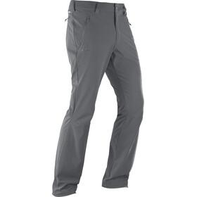 Salomon Wayfarer Straight LT Spodnie długie Mężczyźni szary